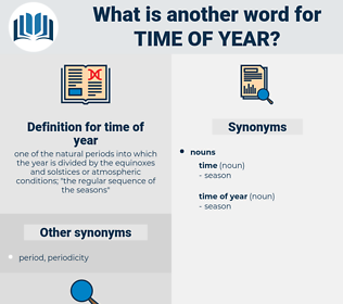 time of year, synonym time of year, another word for time of year, words like time of year, thesaurus time of year
