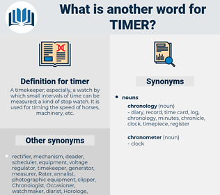timer, synonym timer, another word for timer, words like timer, thesaurus timer