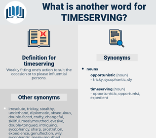 timeserving, synonym timeserving, another word for timeserving, words like timeserving, thesaurus timeserving