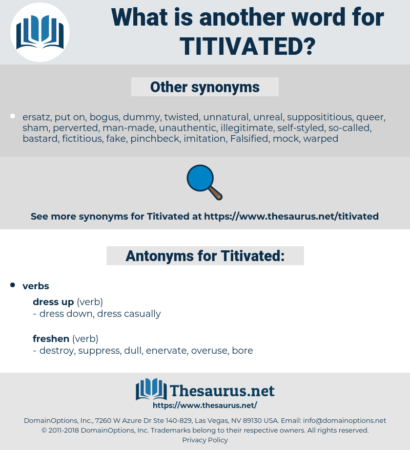 Titivated, synonym Titivated, another word for Titivated, words like Titivated, thesaurus Titivated