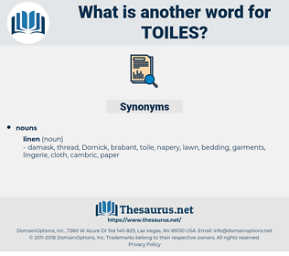 toiles, synonym toiles, another word for toiles, words like toiles, thesaurus toiles
