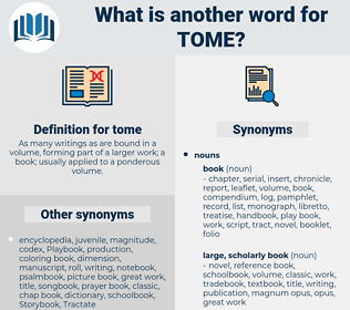tome, synonym tome, another word for tome, words like tome, thesaurus tome