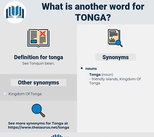 tonga, synonym tonga, another word for tonga, words like tonga, thesaurus tonga