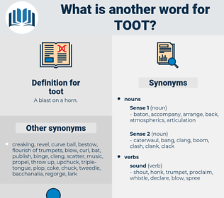 toot, synonym toot, another word for toot, words like toot, thesaurus toot