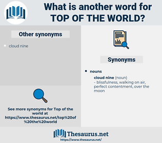 top of the world, synonym top of the world, another word for top of the world, words like top of the world, thesaurus top of the world