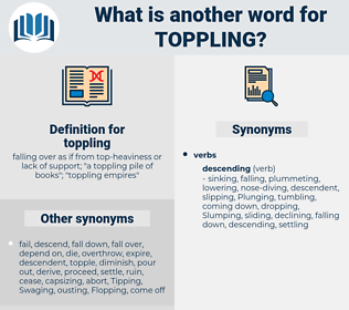 toppling, synonym toppling, another word for toppling, words like toppling, thesaurus toppling