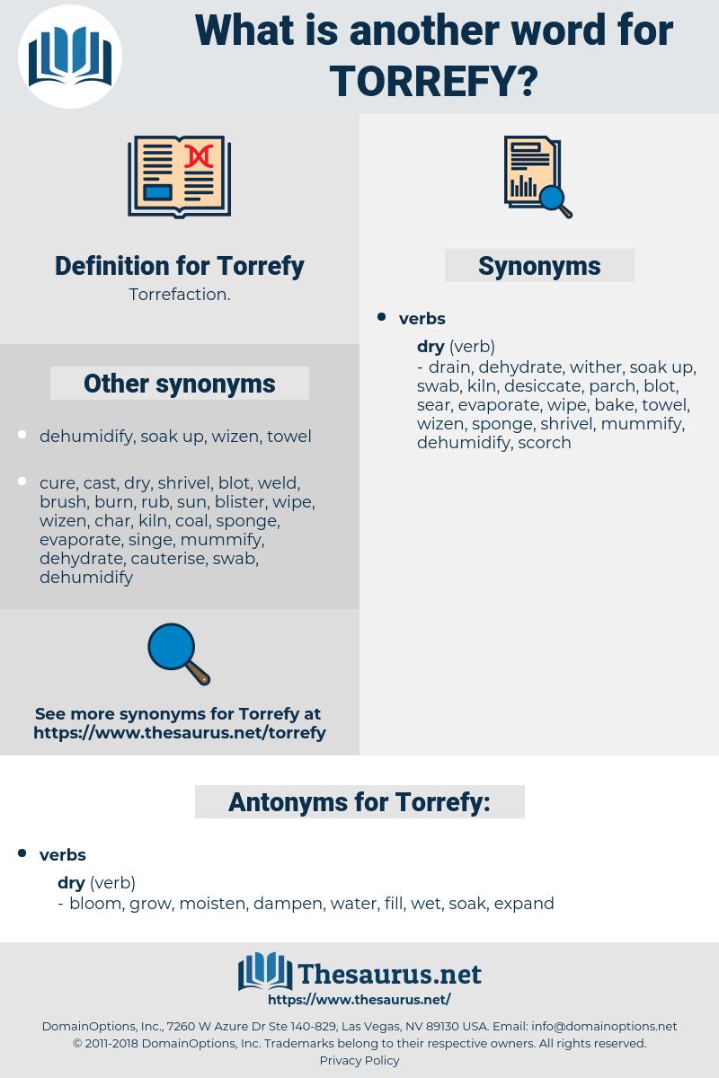 Torrefy, synonym Torrefy, another word for Torrefy, words like Torrefy, thesaurus Torrefy