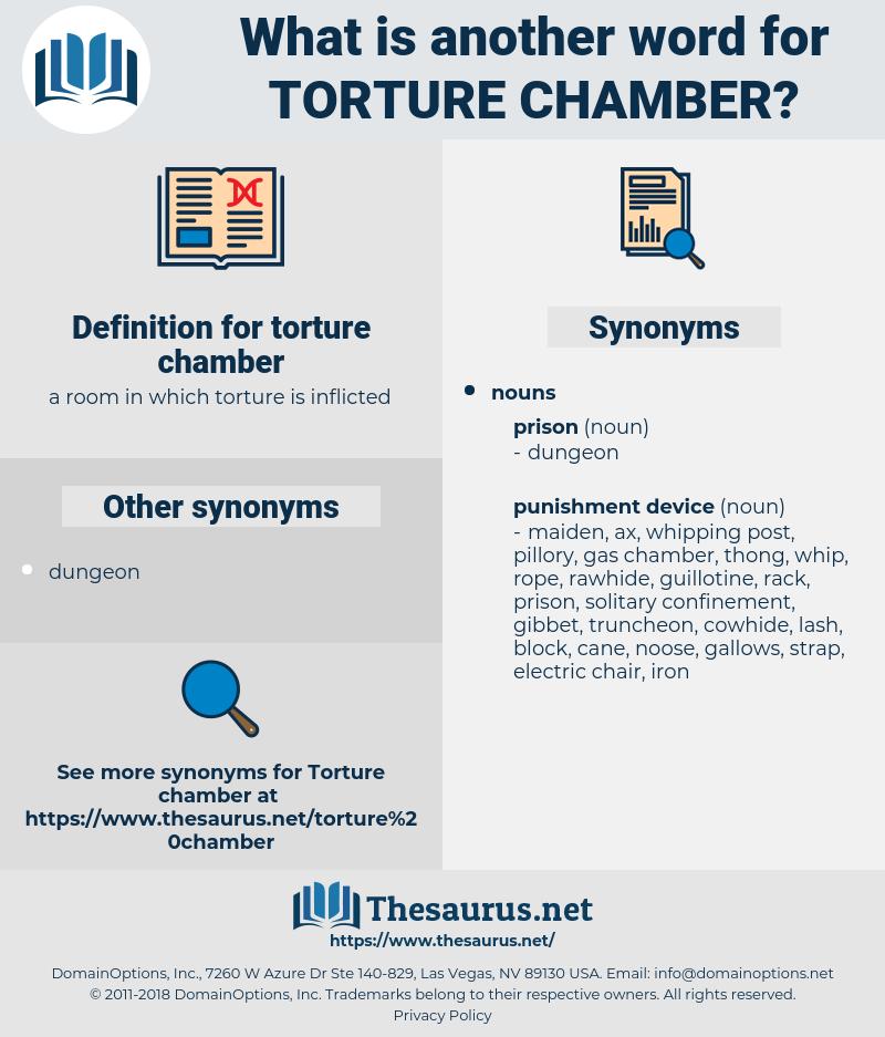 torture chamber, synonym torture chamber, another word for torture chamber, words like torture chamber, thesaurus torture chamber