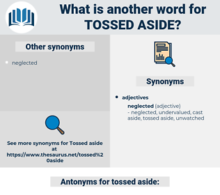 tossed aside, synonym tossed aside, another word for tossed aside, words like tossed aside, thesaurus tossed aside