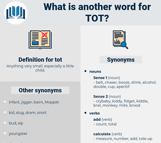 tot, synonym tot, another word for tot, words like tot, thesaurus tot