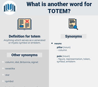totem, synonym totem, another word for totem, words like totem, thesaurus totem