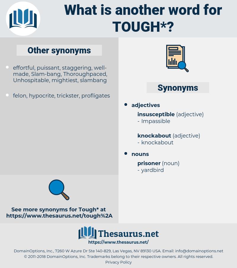 tough, synonym tough, another word for tough, words like tough, thesaurus tough