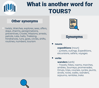 tours, synonym tours, another word for tours, words like tours, thesaurus tours