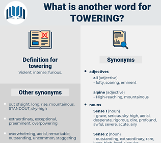 towering, synonym towering, another word for towering, words like towering, thesaurus towering