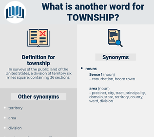 township, synonym township, another word for township, words like township, thesaurus township