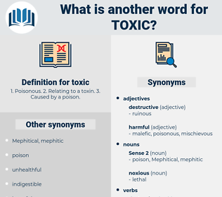 toxic, synonym toxic, another word for toxic, words like toxic, thesaurus toxic