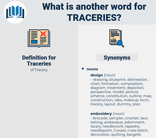 Traceries, synonym Traceries, another word for Traceries, words like Traceries, thesaurus Traceries