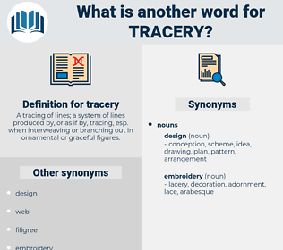 tracery, synonym tracery, another word for tracery, words like tracery, thesaurus tracery