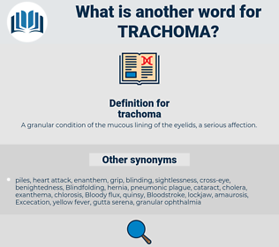 trachoma, synonym trachoma, another word for trachoma, words like trachoma, thesaurus trachoma