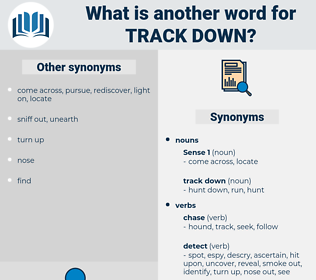 track down, synonym track down, another word for track down, words like track down, thesaurus track down