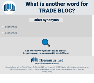 trade bloc, synonym trade bloc, another word for trade bloc, words like trade bloc, thesaurus trade bloc