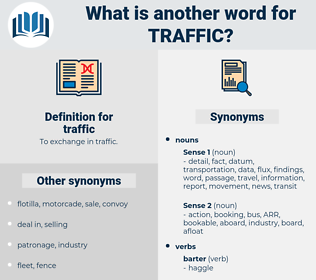 traffic, synonym traffic, another word for traffic, words like traffic, thesaurus traffic