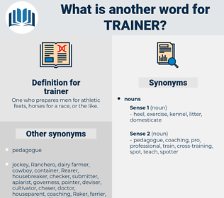 trainer, synonym trainer, another word for trainer, words like trainer, thesaurus trainer