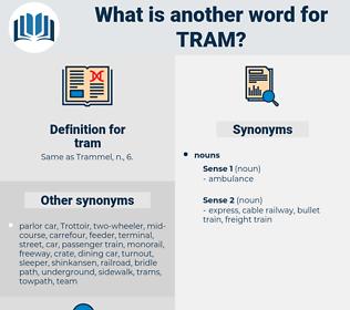 tram, synonym tram, another word for tram, words like tram, thesaurus tram