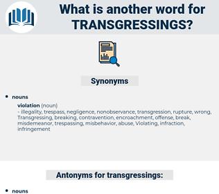 transgressings, synonym transgressings, another word for transgressings, words like transgressings, thesaurus transgressings