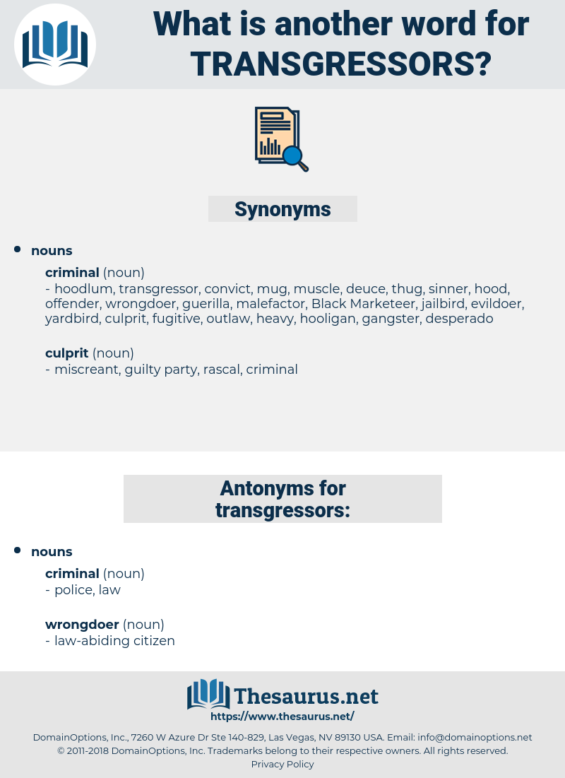 transgressors, synonym transgressors, another word for transgressors, words like transgressors, thesaurus transgressors