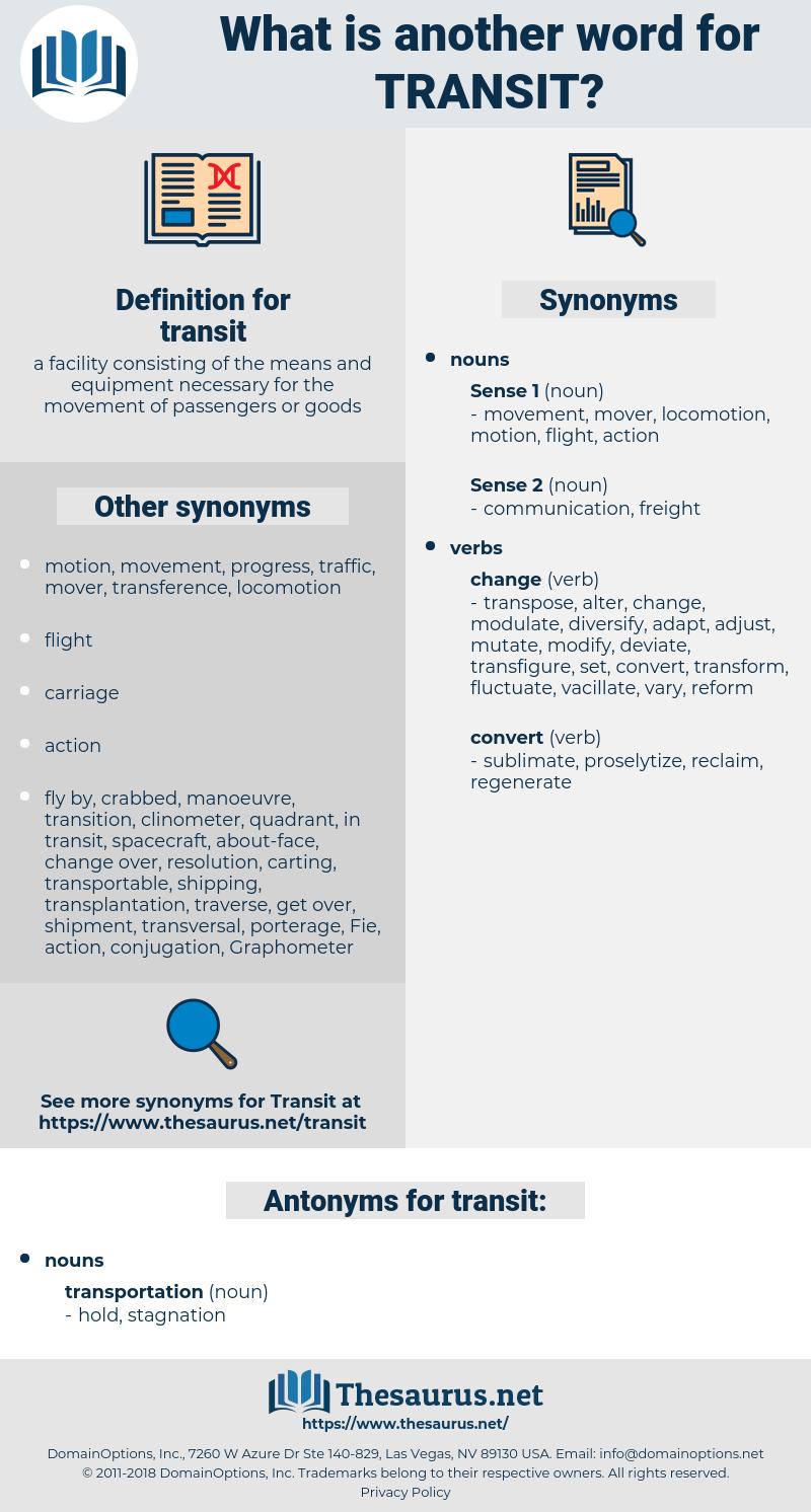 transit, synonym transit, another word for transit, words like transit, thesaurus transit