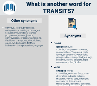 transits, synonym transits, another word for transits, words like transits, thesaurus transits
