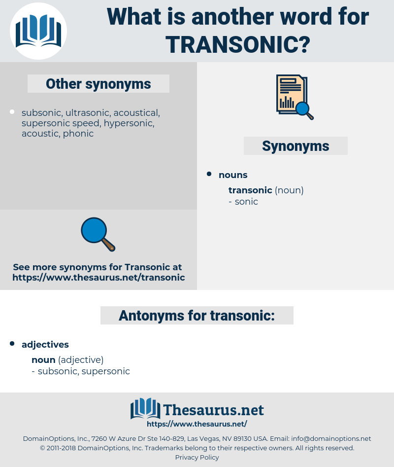 transonic, synonym transonic, another word for transonic, words like transonic, thesaurus transonic