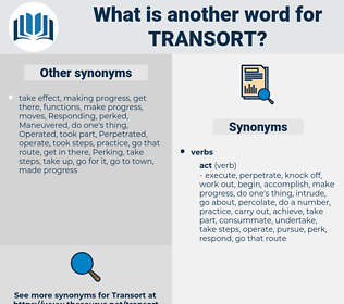 transort, synonym transort, another word for transort, words like transort, thesaurus transort