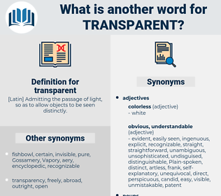 transparent, synonym transparent, another word for transparent, words like transparent, thesaurus transparent