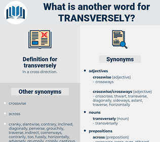 transversely, synonym transversely, another word for transversely, words like transversely, thesaurus transversely