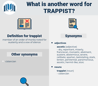 trappist, synonym trappist, another word for trappist, words like trappist, thesaurus trappist