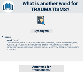 traumatisms, synonym traumatisms, another word for traumatisms, words like traumatisms, thesaurus traumatisms