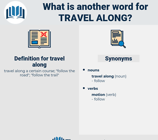 travel along, synonym travel along, another word for travel along, words like travel along, thesaurus travel along