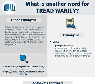 tread warily, synonym tread warily, another word for tread warily, words like tread warily, thesaurus tread warily