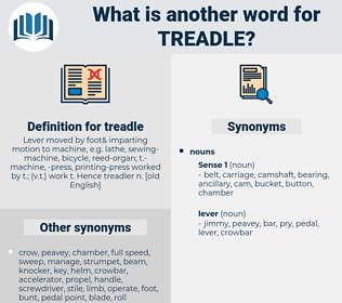 treadle, synonym treadle, another word for treadle, words like treadle, thesaurus treadle