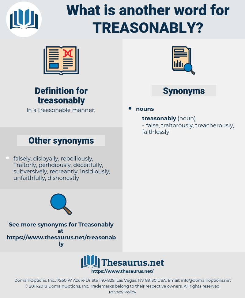 treasonably, synonym treasonably, another word for treasonably, words like treasonably, thesaurus treasonably