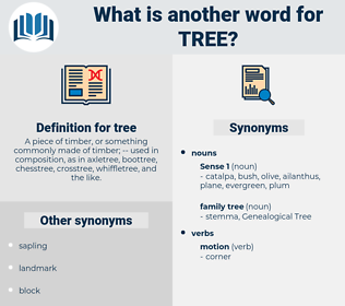 tree, synonym tree, another word for tree, words like tree, thesaurus tree