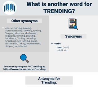 Trending, synonym Trending, another word for Trending, words like Trending, thesaurus Trending