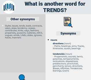 trends, synonym trends, another word for trends, words like trends, thesaurus trends
