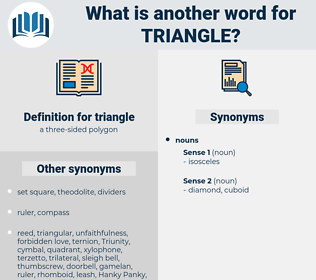 triangle, synonym triangle, another word for triangle, words like triangle, thesaurus triangle