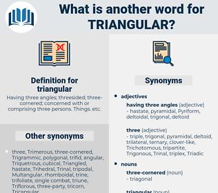 triangular, synonym triangular, another word for triangular, words like triangular, thesaurus triangular