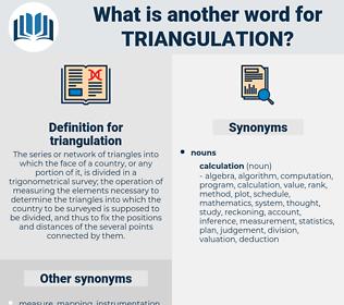 triangulation, synonym triangulation, another word for triangulation, words like triangulation, thesaurus triangulation