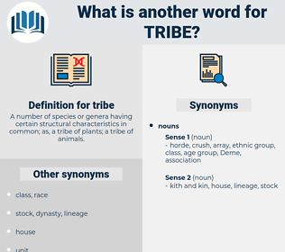 tribe, synonym tribe, another word for tribe, words like tribe, thesaurus tribe