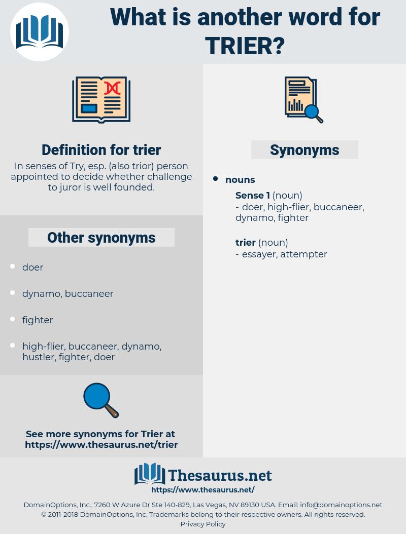 Trier Synonym